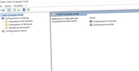 aprire editor di gruppo locali su Windows 10 home