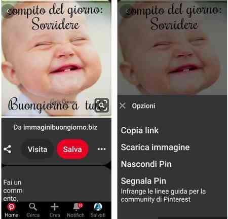 come guadagna pinterest