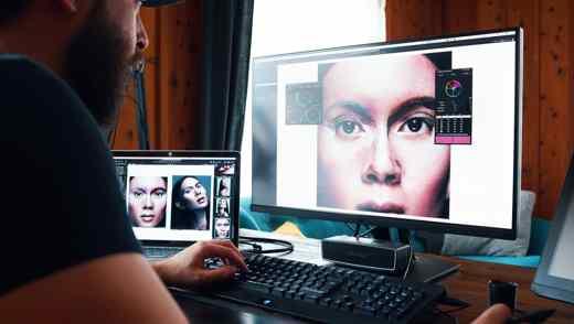 monitor per fotografia