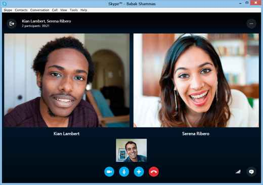 videoconferenze skype