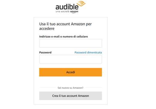amazon audiolibri italiano
