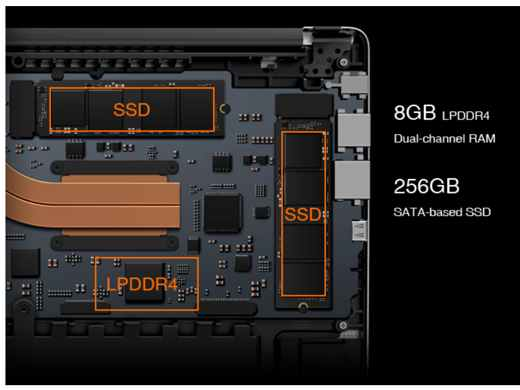 notebook AeroBook Pro 15,6 pollici 4K HDR