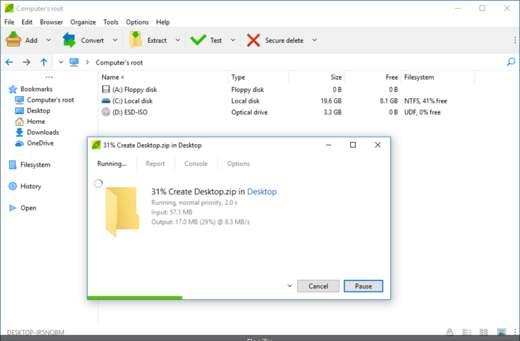 compressione file