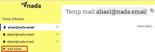email provvisorio
