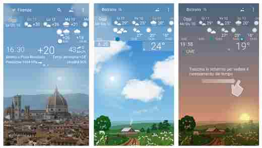 app meteo android