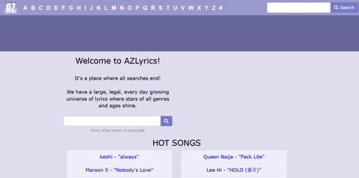 testi di canzoni