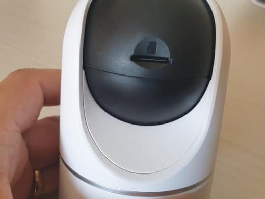 recensione Eufy Security Indoor Cam 2K Pan and Tilt