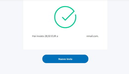 trasferimento denaro paypal