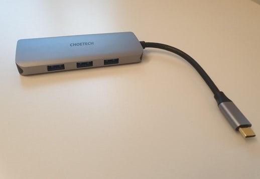 Recensione Choetech adattatore HUB USB-C e HDMI 7 in 1