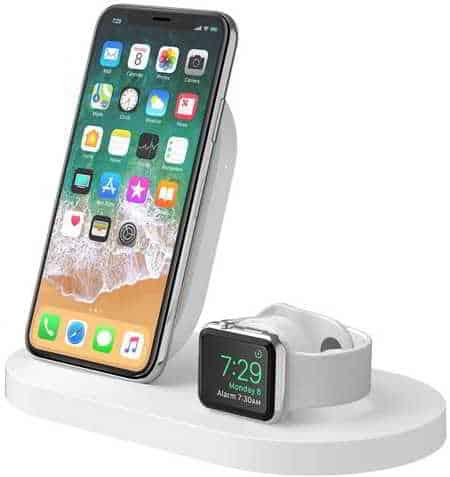 caricatore wireless iphone