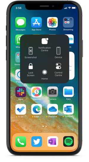 creenshot iPhone 12