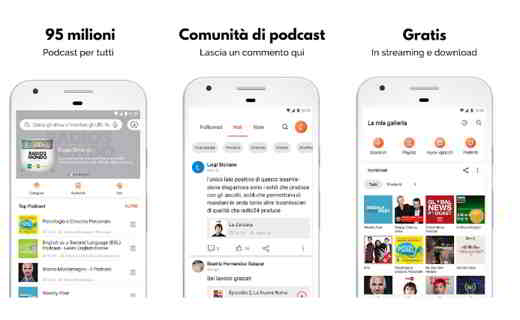 podcast per android