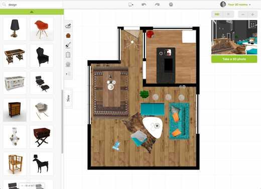 arredare casa in 3d gratis