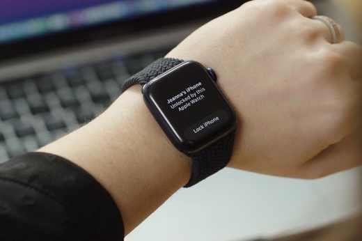 Sblocco iPhone con Apple Watch