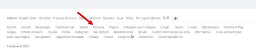 facebook login accedi a facebook