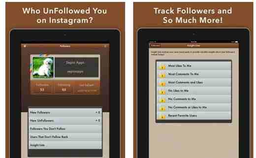conteggio follower instagram