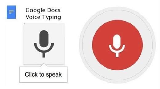 come dettare su Google documenti