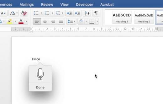 scrivere parlando