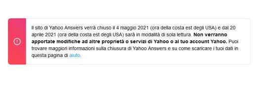 Le alternative a Yahoo Answers