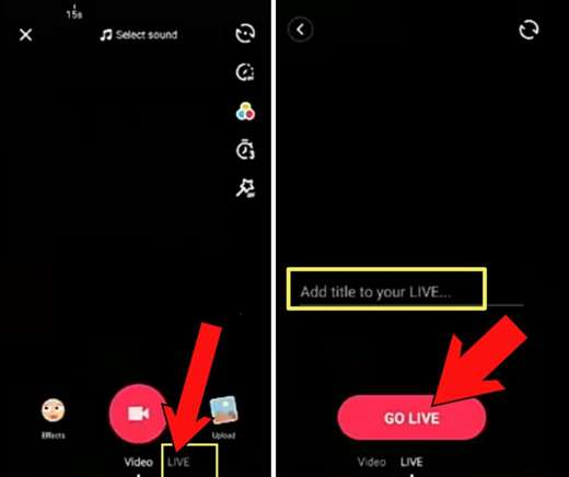 Come si fanno le live su TikTok