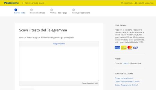 servizio telegrammi