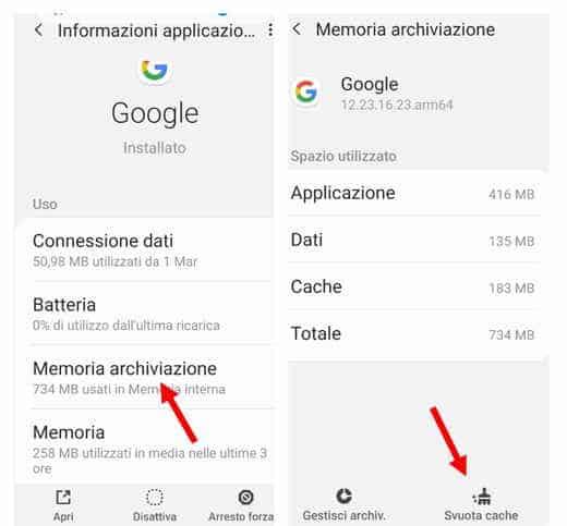 google app keeps crashing