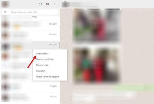 come vedere le conversazioni di whatsapp