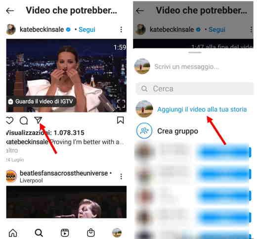 video per instagram formato