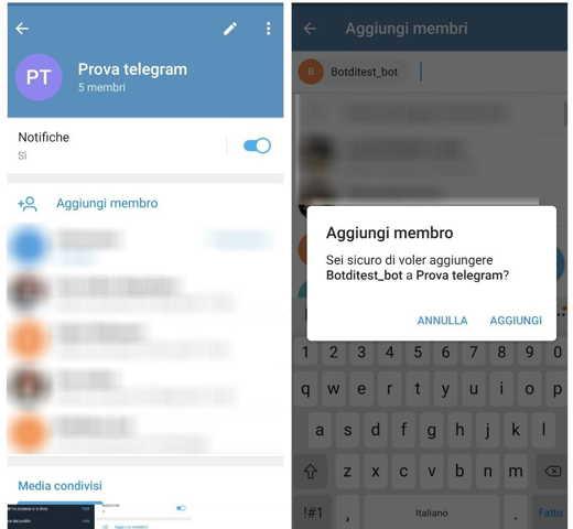 Come programmare un messaggio su Telegram