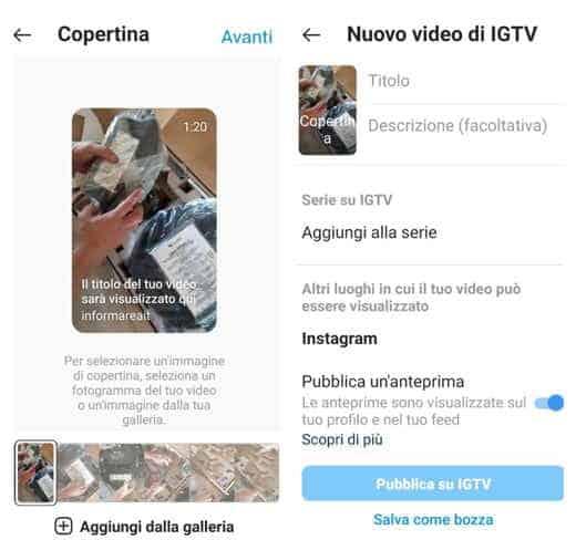video veloci instagram