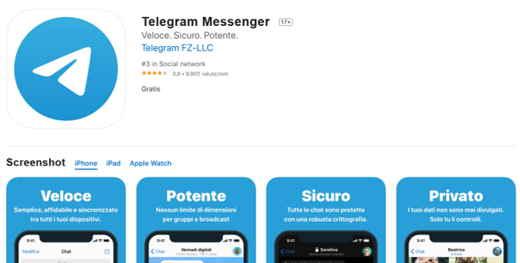 telegram gratis