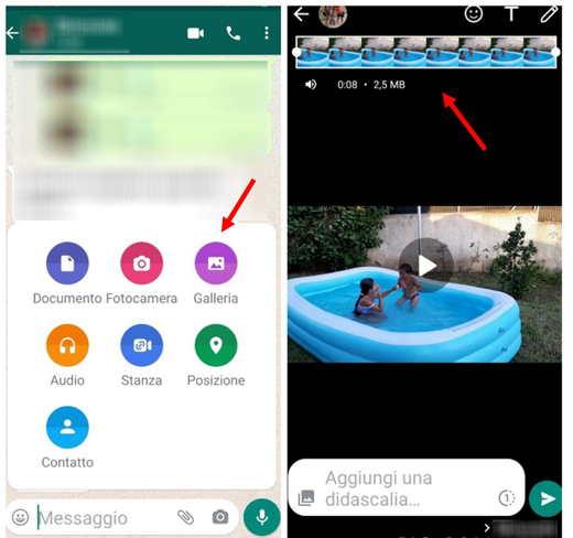 video di whatsapp