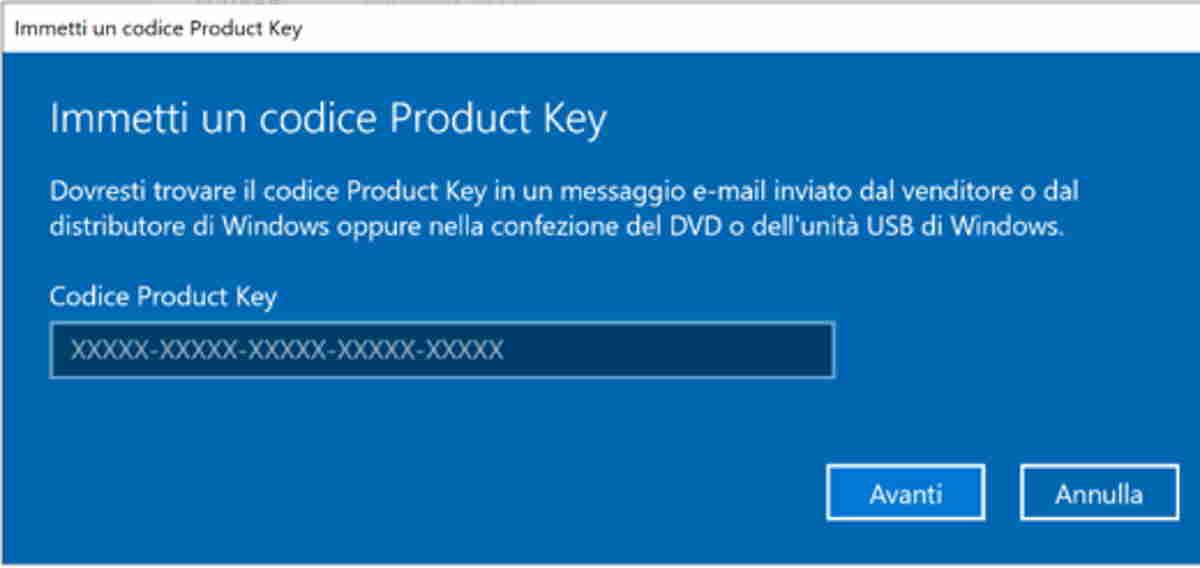Windows 10 licenza a vita a soli 10€