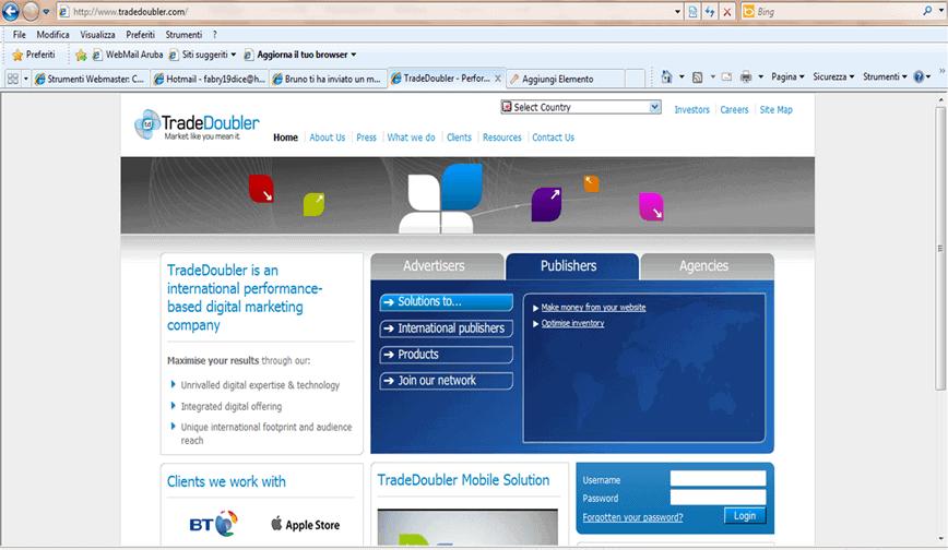 tradedoubler - Network di Affiliazione