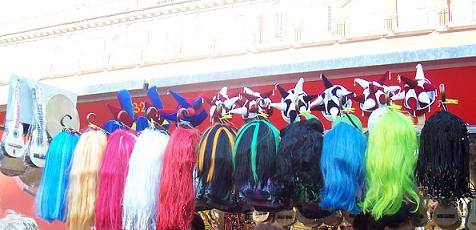 Madrid parrucche - Capodanno a Madrid