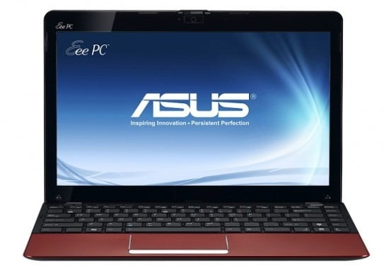 asus eee pc 1215b red front open135 550x382 t - Più potenza ai Notebook