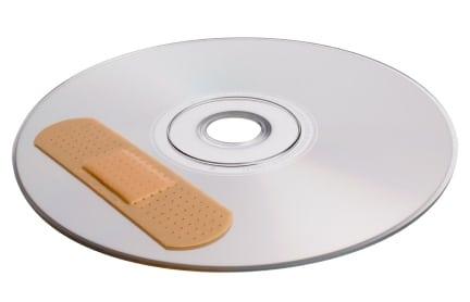 cd danneggiato