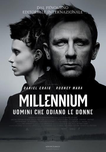 millennium locandina. - Millenium – Uomini che odiano le donne: dal fenomeno editoriale internazionale