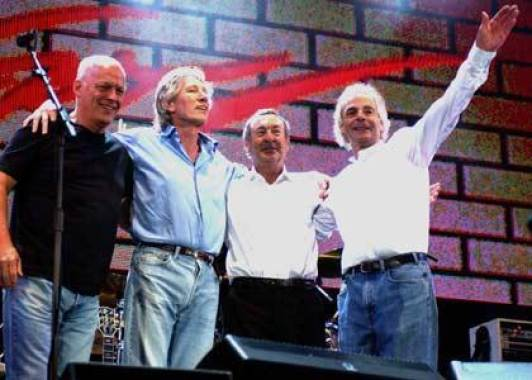 La reunion dei Pink Floyd nel 2005