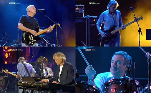 Pink Floyd al Live8