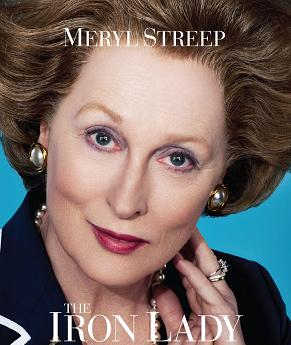 the iron lady poster - Oscar 2012: appena annunciate le nomination