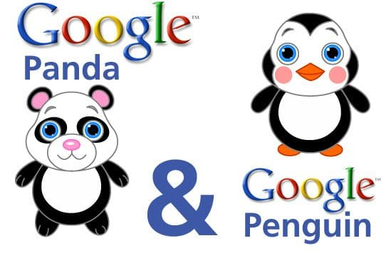 Google Panda e Penguin Update