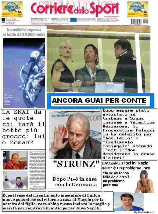 La satira in prima pagina 16/10/2012