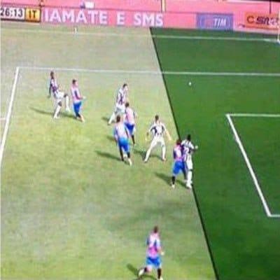 L'episodio della domenica: Bergessio in gioco trafigge Buffon ma l'arbitro annulla