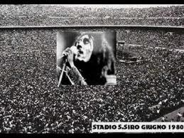 Bob Marley a San Siro 27 giugno 1980