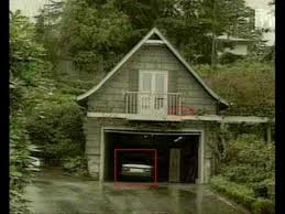 il garage nella villa di Lake Washington Boulevard
