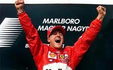 Gli anni dei trionfi di Schumacher