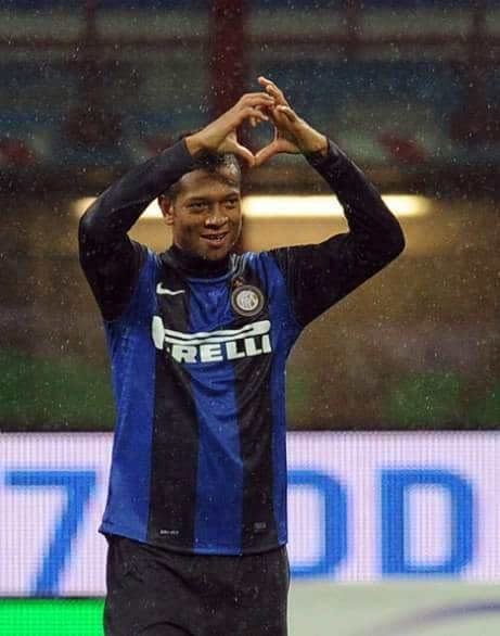 Guarin in goal nel 3 -2 fra Inter e Sampdoria