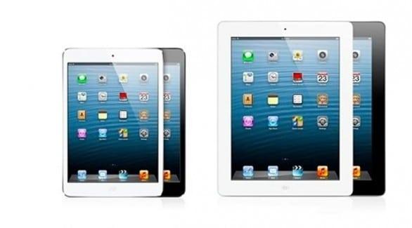 iPad mini e iPad 4 Retina