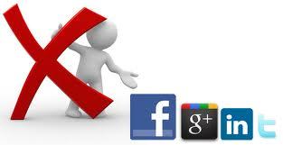 Eliminare account social network - Come eliminare il nostro profilo da Twitter, Google + e dagli altri Social Network